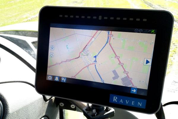 Raven CR7 écran 7 pouces